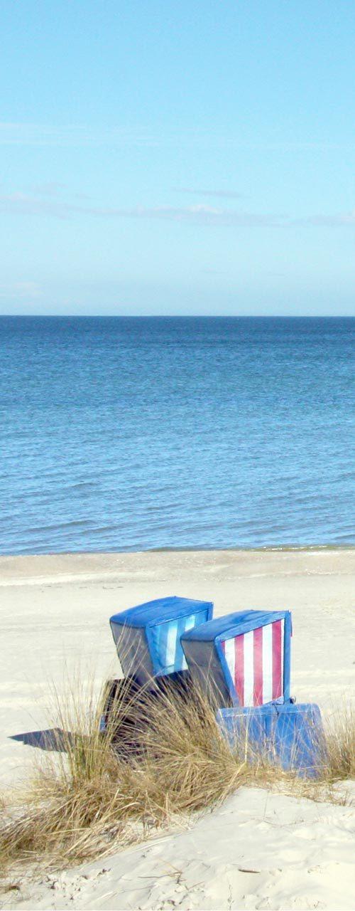 Weisser Sand und klares Wasser