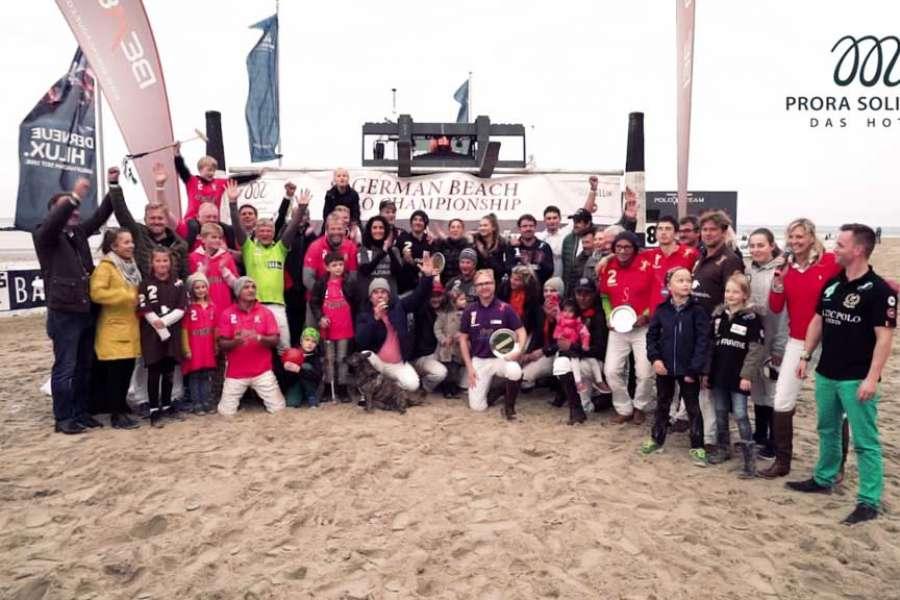 Prora Solitaire 8. German Beach Polo Championship in Sellin