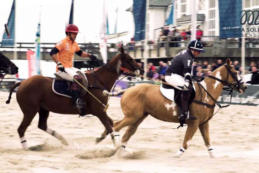 Prora Solitaire 8. German Beach Polo Championship in Sellin