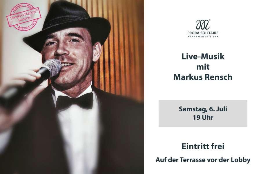 Live-Musik mit Markus Rensch